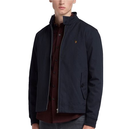 Farah Navy Hardy Harrington Jacket  - Click to view a larger image