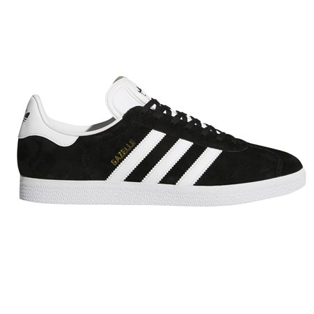 adidas Originals Black/White Gazelle Trainers  - Click to view a larger image