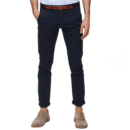 Selected Homme Navy Yard Slim Fit Chinos  - Click to view a larger image