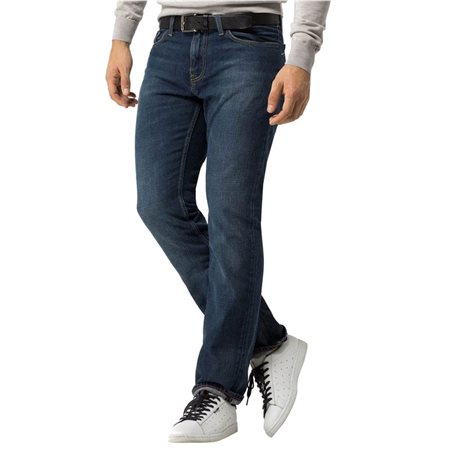 18cc9103e Tommy Hilfiger Mid Blue Mercer Regular Fit Jean - Click to view a larger  image