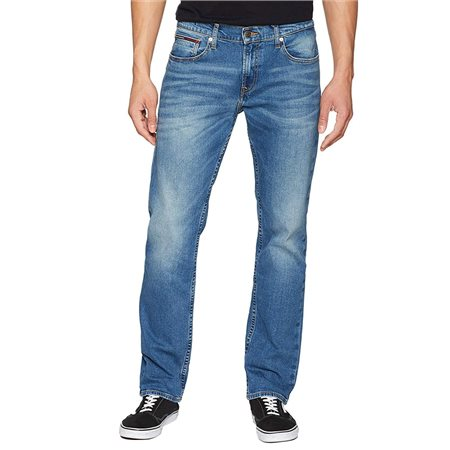4cc5658c Tommy Jeans Tommy Hilfiger Fulton Mid Blue Ryan Straight Jeans ...