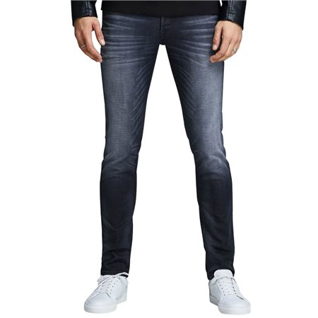 Jack & Jones Intelligence  Blue Denim Glenn 745 Slim Fit Jeans  - Click to view a larger image