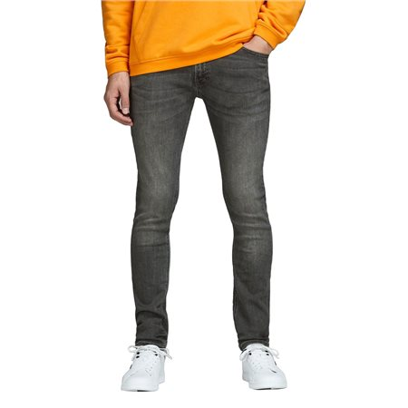 Jack & Jones Intelligence  Grey Liam 010 Skinny Jeans  - Click to view a larger image