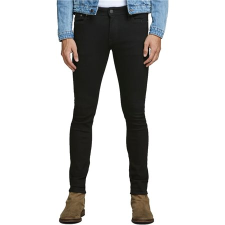 Jack & Jones Intelligence  Black Liam Original Am 009 Skinny Fit Jeans  - Click to view a larger image