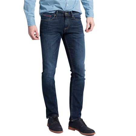 Tommy Jeans Dynamic True Dark Scanton Slim Fit Stretch Jeans  - Click to view a larger image