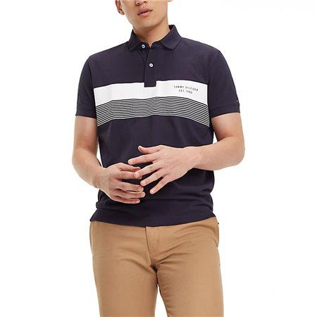 547e8f886 Tommy Hilfiger Stripe Cotton Polo