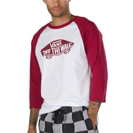 d8029182c9 Vans Clothing White Rhumba Otw Raglan T-Shirt