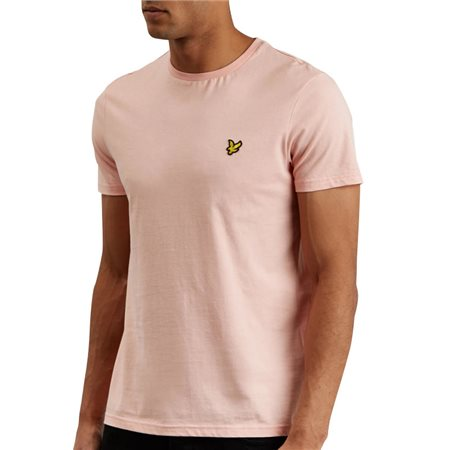 Lyle & Scott Coral Way Plain Crew Neck T-Shirt  - Click to view a larger image