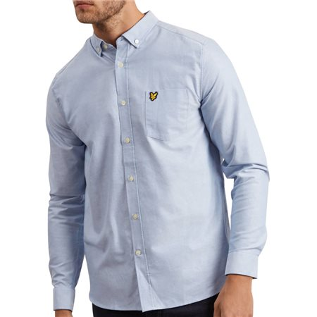 Lyle & Scott Riveria Long Sleeve Oxford Shirt  - Click to view a larger image