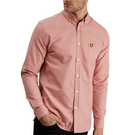 Lyle & Scott Coral Way Long Sleeve Oxford Shirt  - Click to view a larger image
