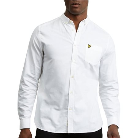 Lyle & Scott Long Sleeve Oxford Shirt  - Click to view a larger image