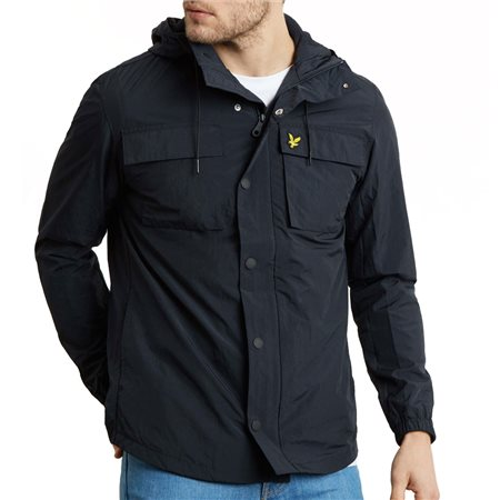 Lyle & Scott Navy Pocket Jacket  - Click to view a larger image