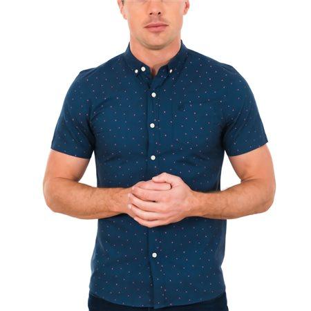 Tommy Bowe XV Kings Blizzard Bridlington Polka Dot Short Sleeve Shirt  - Click to view a larger image