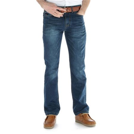 Diesel Grey Blue Wash Dexter Classic Bootcut Jean  - Click to view a larger image