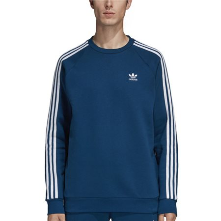 8ba78270 adidas Originals Legend Marine 3-Stripes Crewneck Sweater - Click to view a  larger image
