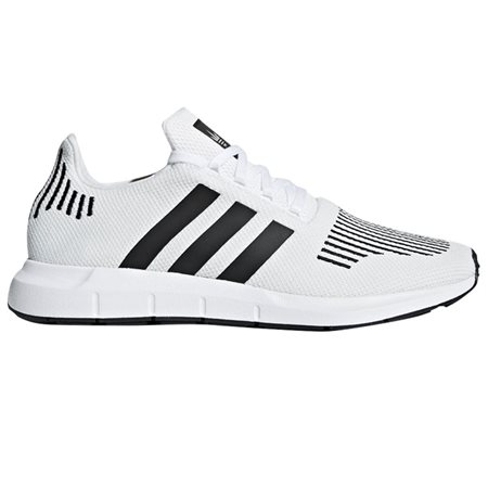 adidas Originals White Swift Run Trainers  - Click to view a larger image