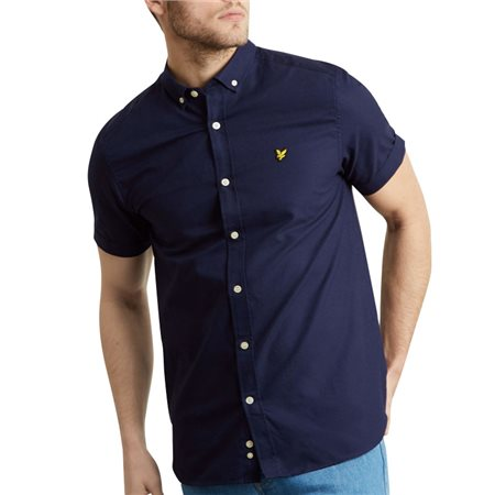 Lyle & Scott Short Sleeve Oxford Shirt  - Click to view a larger image