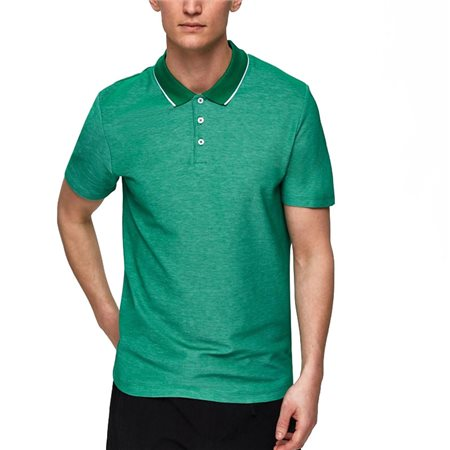 Selected Homme Tyron Organic Cotton Polo Shirt  - Click to view a larger image