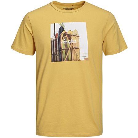 Jack & Jones Originals Hotel Graphic T-Shirt  - Click to view a larger image