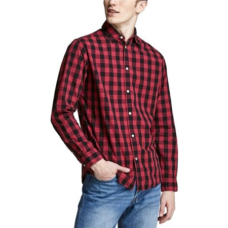 Jack & Jones Essentials Gingham Check Shirt  - Click to view a larger image