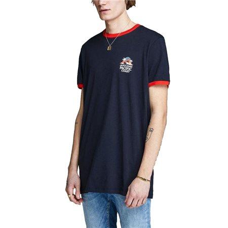 Jack & Jones Originals Contrast Detail Summer T-Shirt  - Click to view a larger image