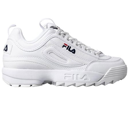 Fila White Disruptor 2 Premium Trainers  - Click to view a larger image