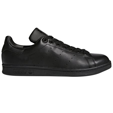 adidas Originals Core Black Stan Smith Trainers  - Click to view a larger image