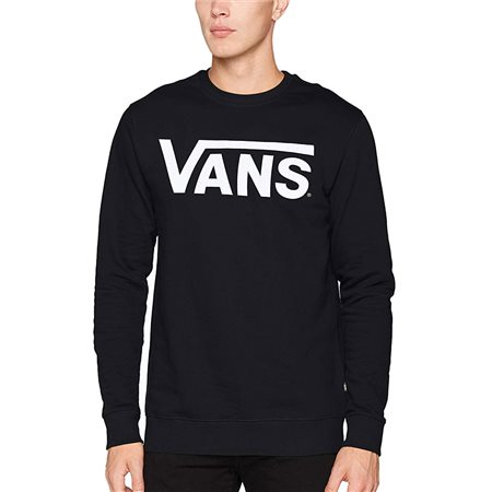 Vans Clothing Black Classic Crew II Sweater  - Click to view a larger image
