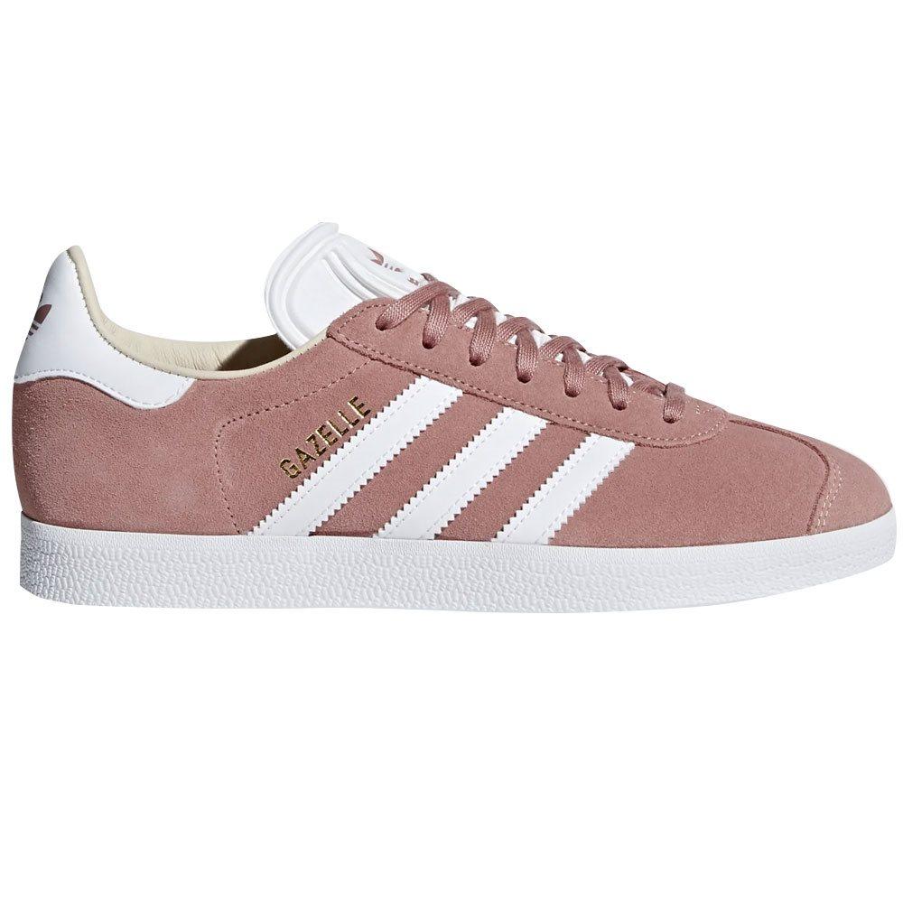 Ash Pink Gazelle Trainers | adidas