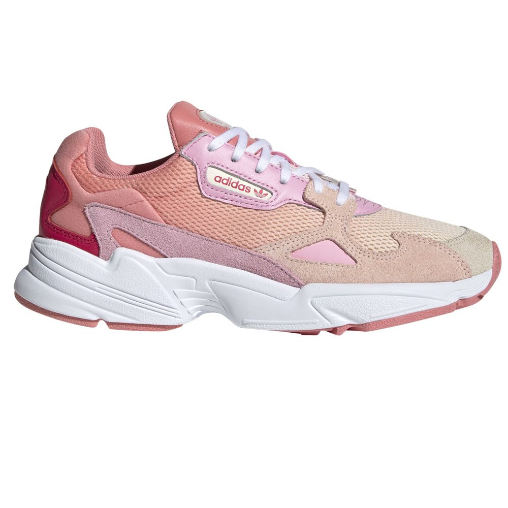 Pink Falcon Trainers   adidas   Evolve