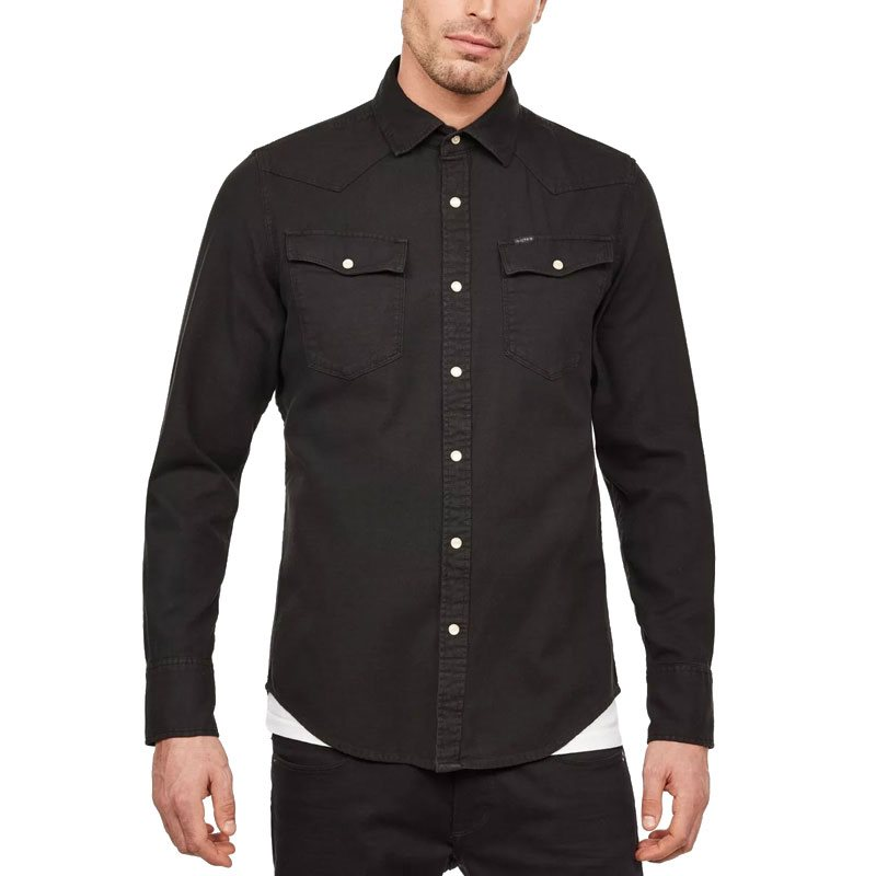 4c60ff02a6 G-Star Black 3301 Shirt - Click to view a larger image