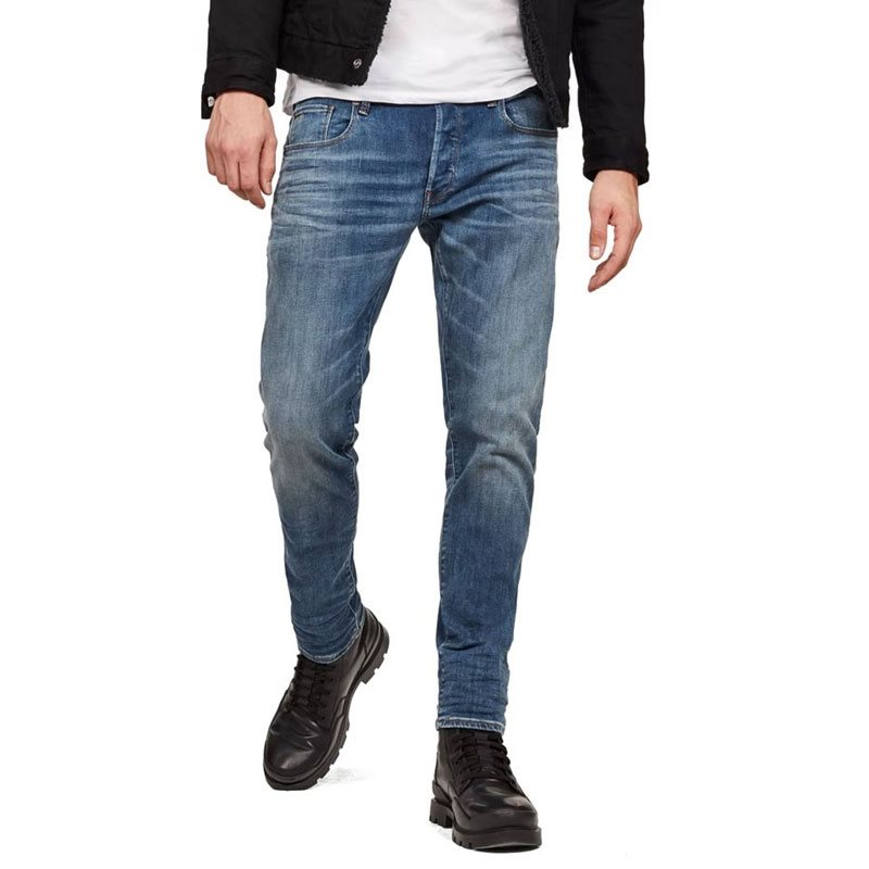 11855742c4e G-Star Medium Aged 3301 Slim Fit Jeans - Click to view a larger image
