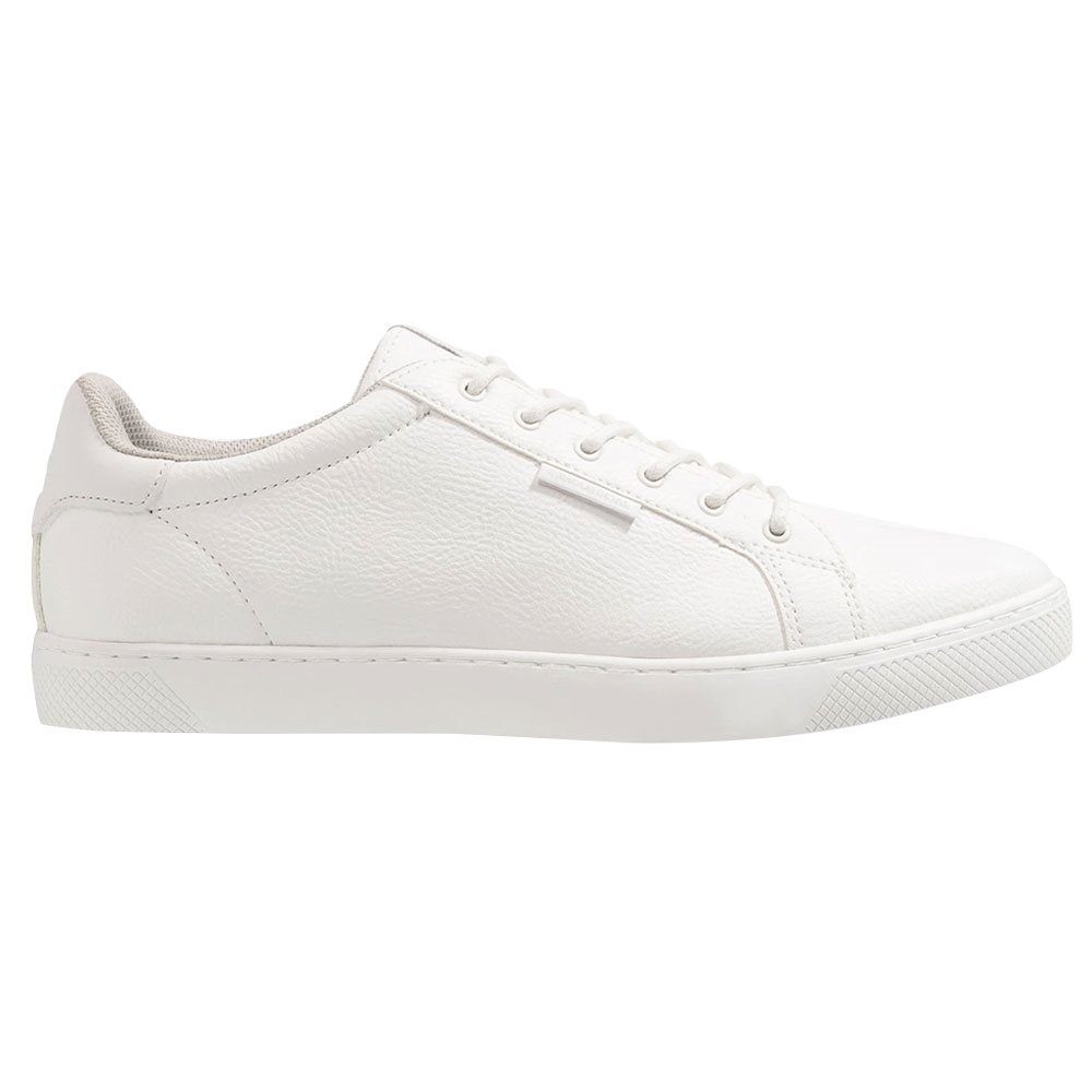 White Faux Leather Trainers | Jack