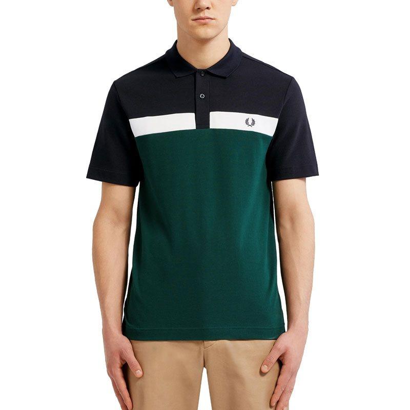 Ausverkauf echte Schuhe gutes Angebot Ivy Contrast Panel Polo Shirt - XS