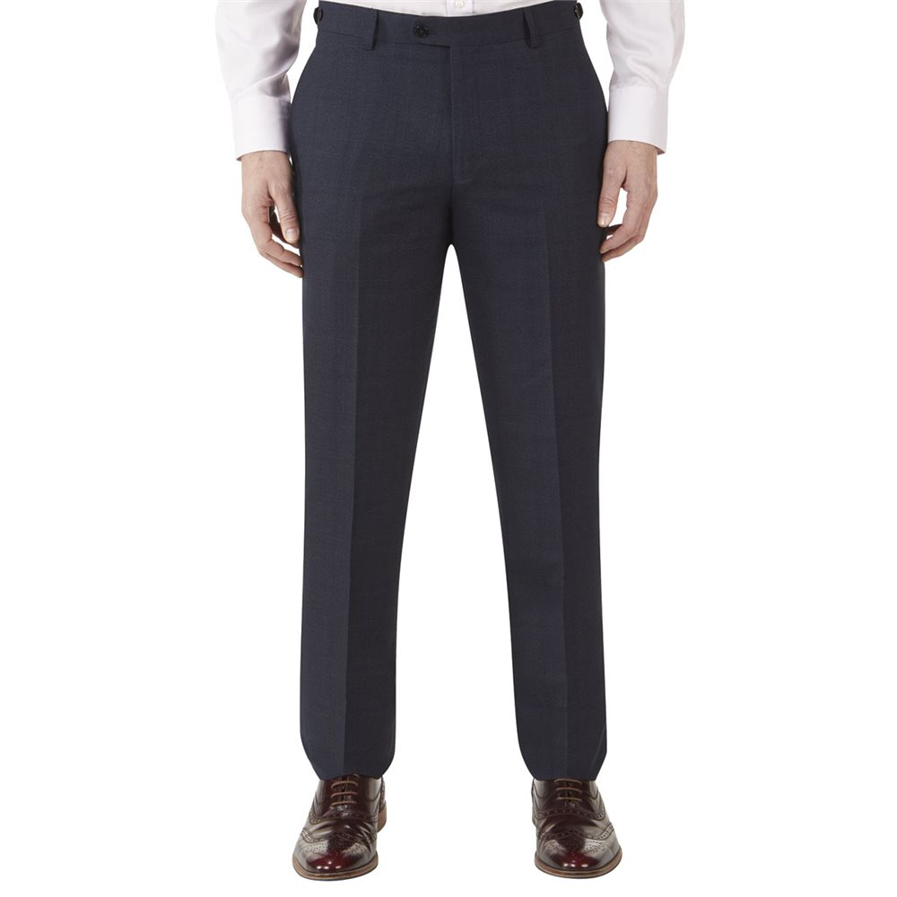 8aa2b060714 Skopes Theodore Tailored Trousers Navy - Click to view a larger image