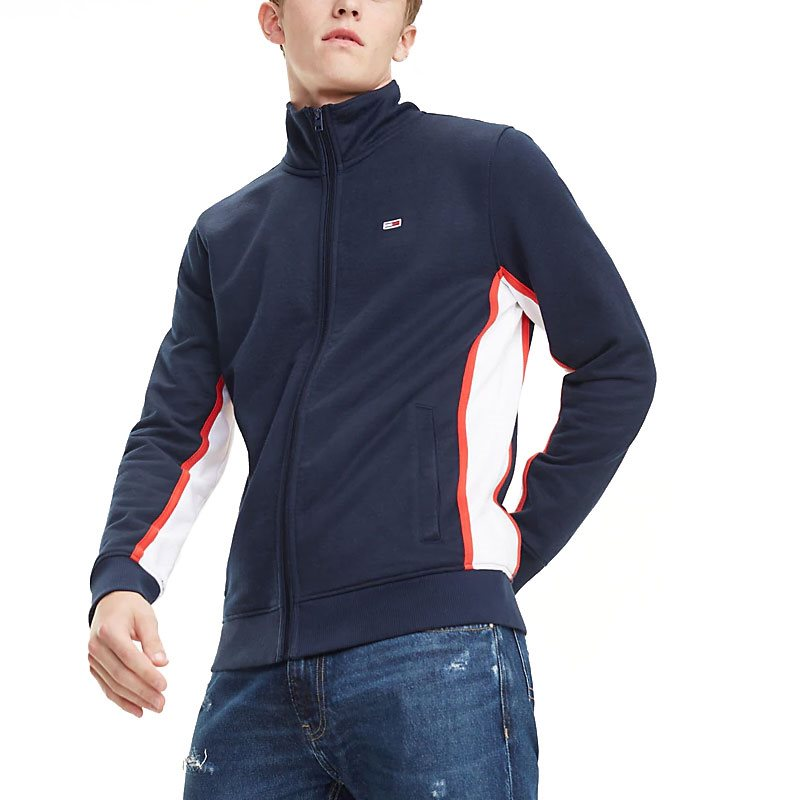 a417ae0ff Tommy Jeans Black Iris Colour-Blocked Track Jacket - Click to view a larger  image