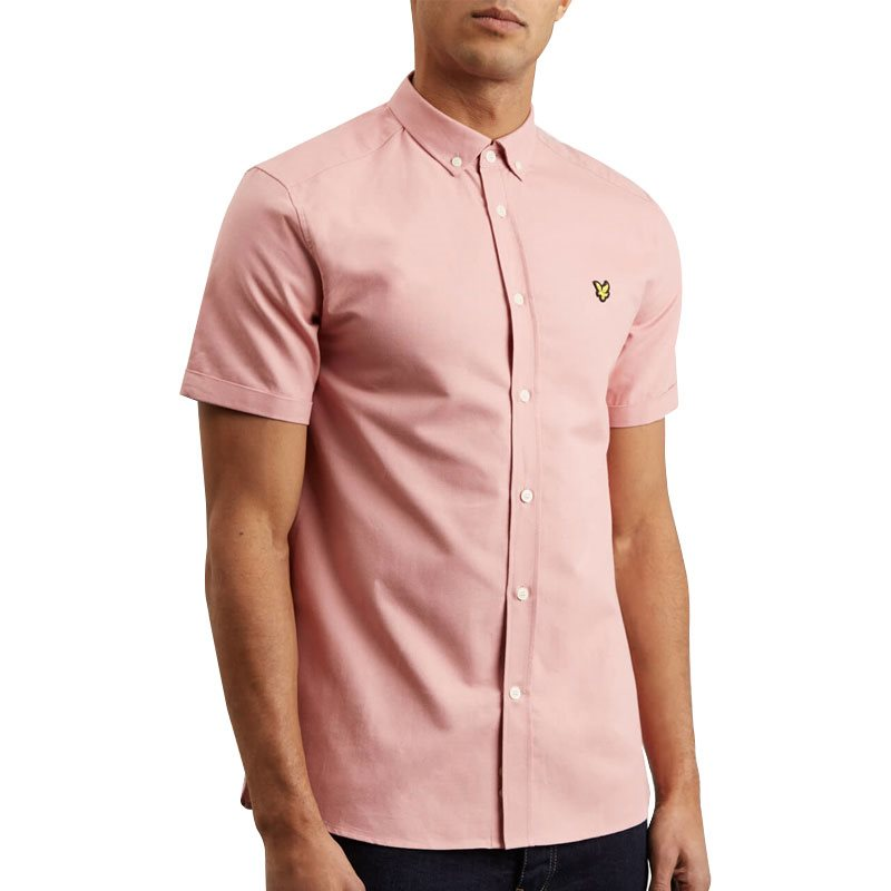 LYLE AND SCOTT OXFORD SHORT SLEEVE POLO SHIRT FOR MEN