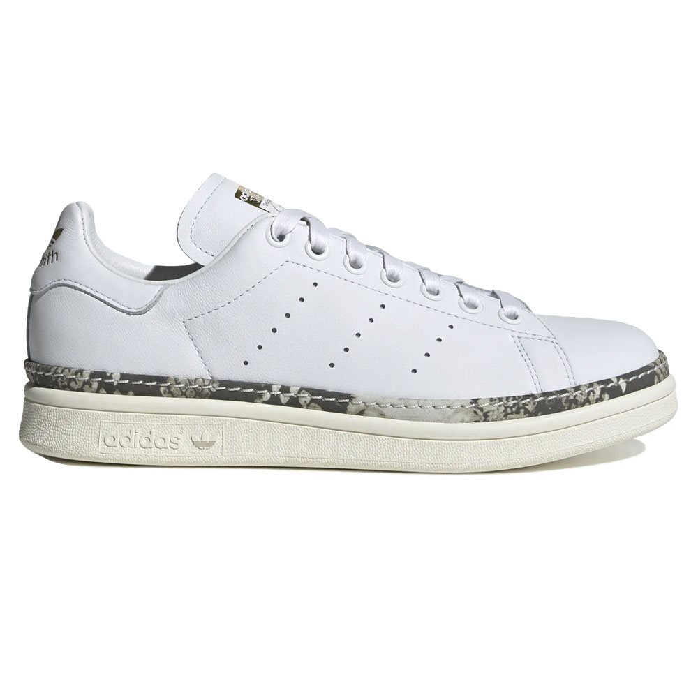 best cheap a9e3f 5fb42 adidas Originals White Stan Smith New Bold Shoes - Click to view a larger  image