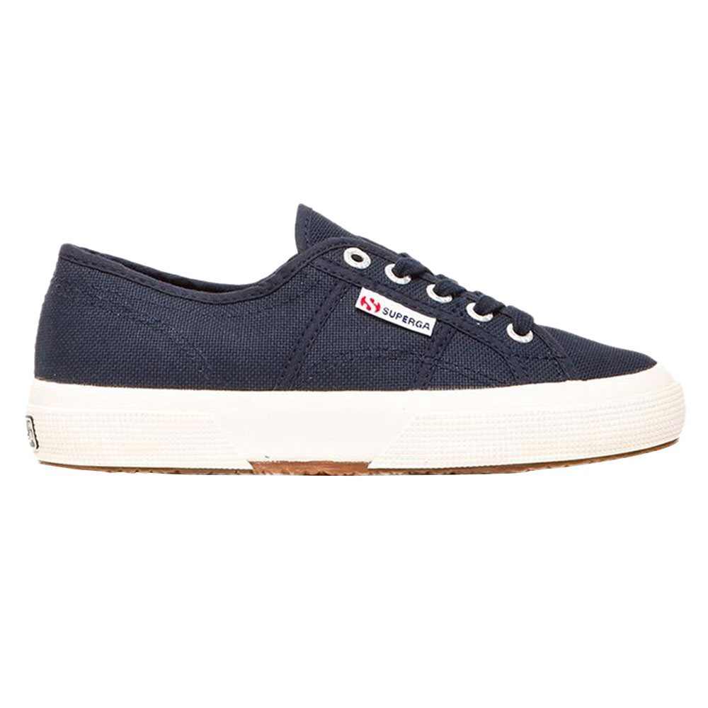 35a0bbd9b8f34 Superga Navy 2750 Cotu Classic Canvas Trainer - Click to view a larger image
