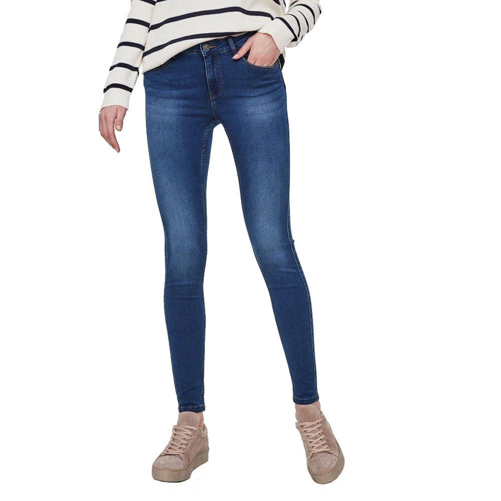 release date: a92bf a28b0 Medium Blue Denim Seven Nw Shape Up Skinny Jeans - 26W 32L