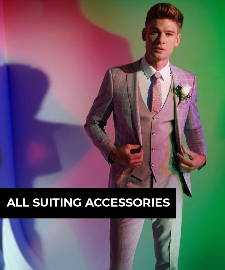 All mens suiting accessories
